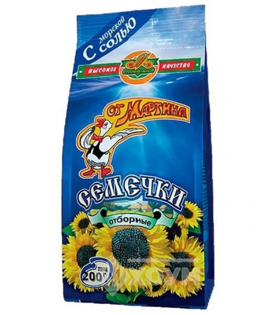 "Sunflower Seeds ""Martin's"" with sea-salt - 0.2 kg."