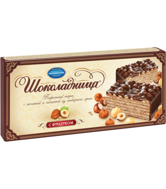 CHOKOLADNITSA Waffle Cake with hazelnuts - 270g (best before 11.11.21)