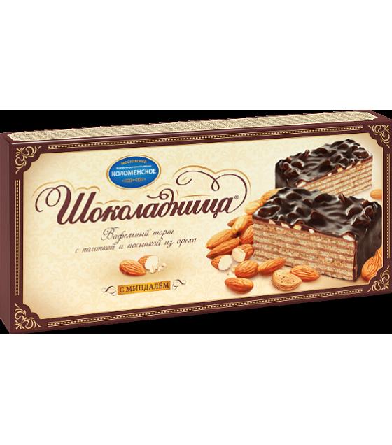 CHOKOLADNITSA Waffle Cake with almonds - 270g (best before 11.11.21)