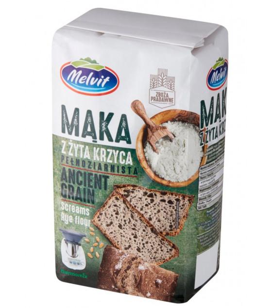 MELVIT Rye Flour (Ancient Grain) - 1kg (best before 29.10.21)