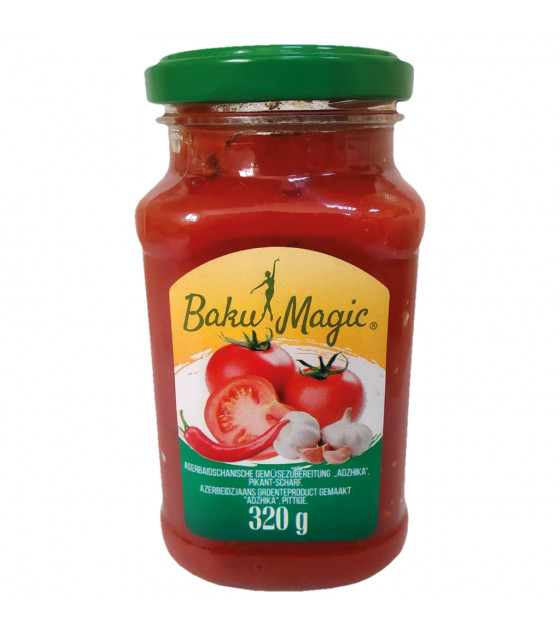 "BAKU-MAGIC Azerbaijani ""Adjika"" sauce - 320g (best before 25.09.22)"
