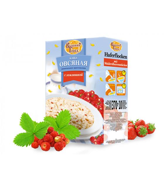 VYSHNIY GOROD Oatmeal Porridge Garden Strawberry - 370g (best before 04.12.21)