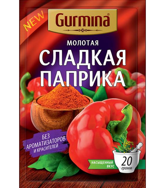 GURMINA Ground Sweet Paprika - 20g (best before 01.02.24)