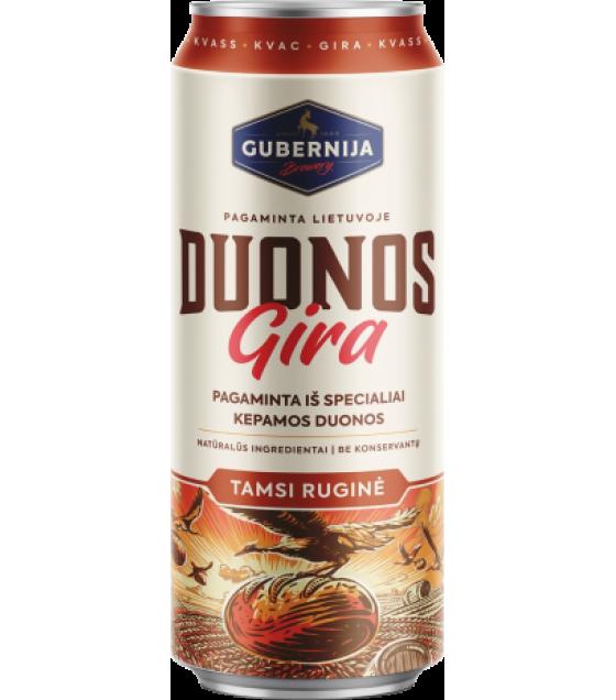 GUBERNIJA Bread Kvass Duonos Gira - 0.5 L/ DUONOS GIRA牌 克瓦斯 [俄羅斯黑麥芽清涼飲料] 0,5 l (best before 01.05.21)