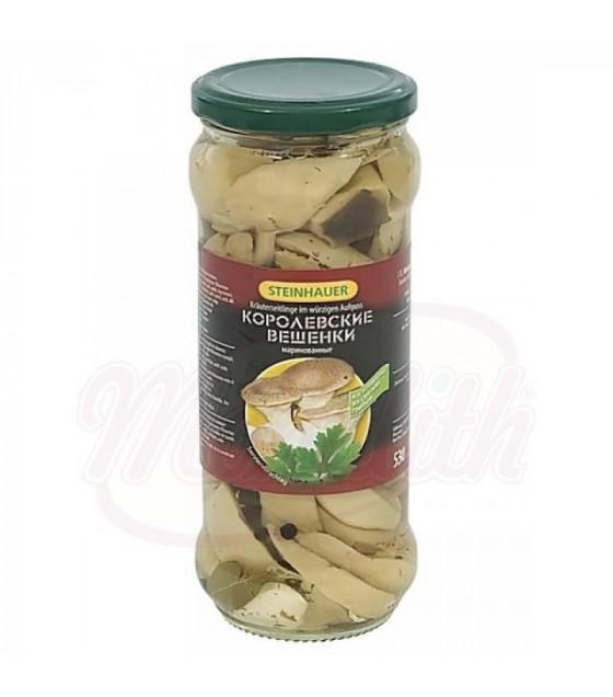 """STEINHAUER Oyster Mushrooms in Brine """"Veshenki Po Uralskomy Recepty"""" - 530g (best before 26.06.22)"""