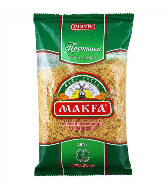 "Vermicelli ""Makfa"" ""Pautinka"" - 450g (exp. 13.11.20)"