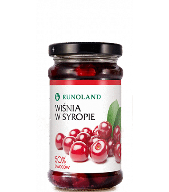 RUNOLAND Sour Cherry in syrup - 230g (exp. 10.02.21)