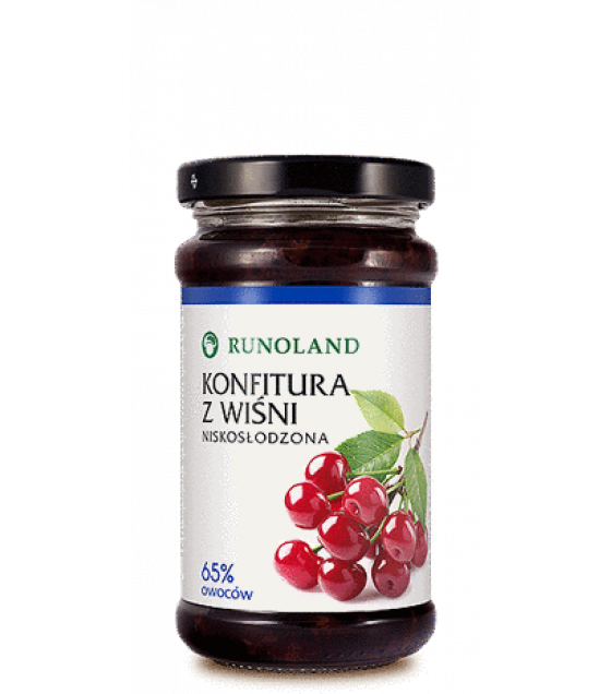 RUNOLAND Sour cherry Confiture - 250g (exp. 10.01.21)