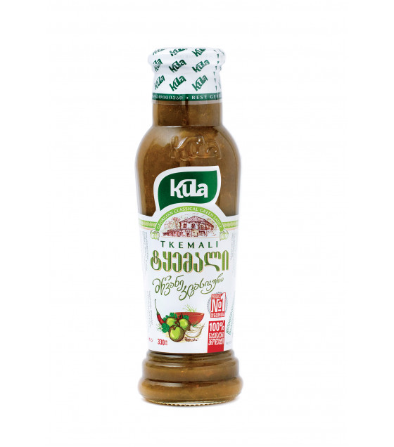 KULA Tkemali Georgian Classical Green Sauce - 365g (best before 25.02.23)