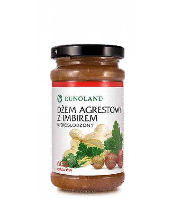 RUNOLAND Gooseberry Jam with ginger - 240 (exp. 10.01.21)