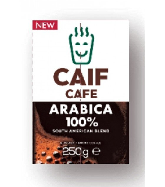 CAIF Ground Coffee South American Blend - 250g (exp. 01.12.19)