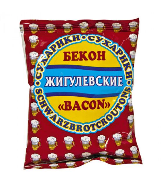 """STEINHAUER """"Jigulevskie"""" Croutons with Bacon Taste - 50g (best before 30.08.21)"""