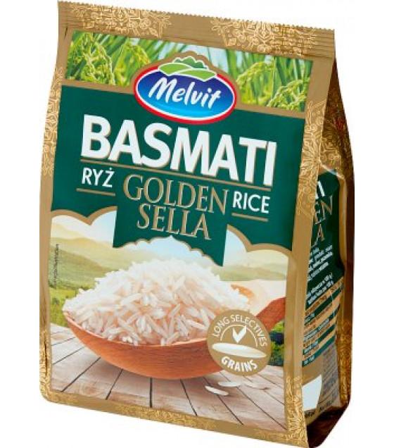 MELVIT Basmati Golden Sella Rice - 600g (best before 02.09.22)