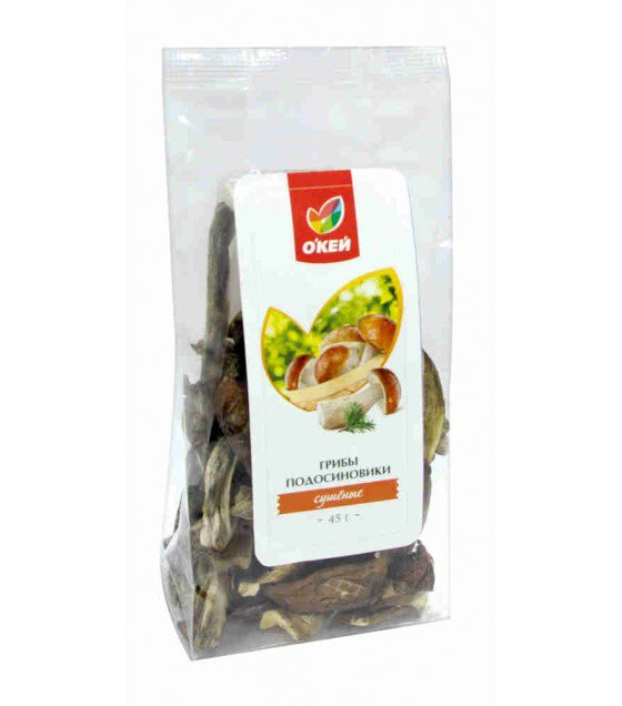 "Dried mushrooms Bay Bolete ""Okay"" - 45g (exp. 12.04.20)"