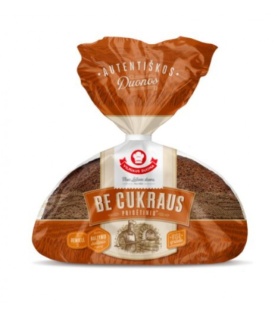 """AUTENTIKOS"" No Added Sugar No Yeast Rye Bread - 450 g."
