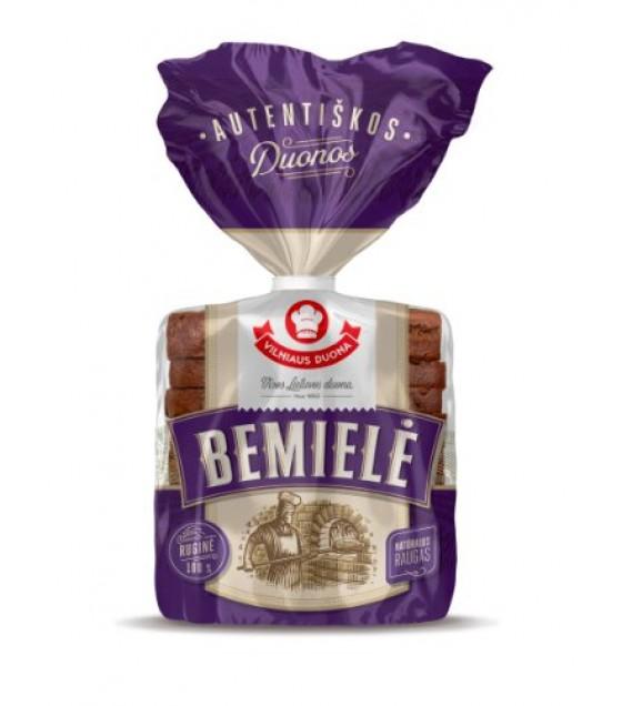 """BEMIELE"" Dark Rye Bread No Yeast 100% - 450g"