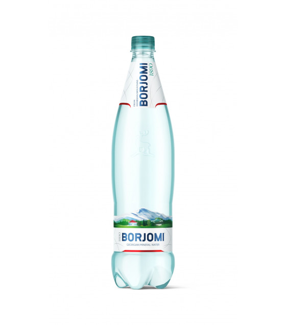 BORJOMI Natural Carbonated Mineral Water - 1L (best before 22.09.21)