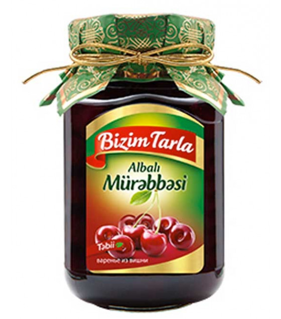 BAKU-MAGIC Sour Cherry Preserve (with core) - 400g (best before 02.11.22)