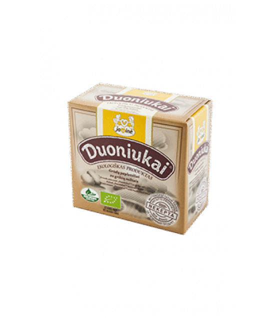 "JAVINE ECO Grain scones ""Duoniukai"" with buckwheat flour - 80g (exp. 12.08.19)"