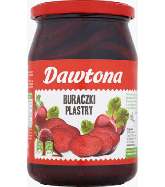 DAWTONA Red Beetroot Slices - 680g/430g (exp. 06.05.21)