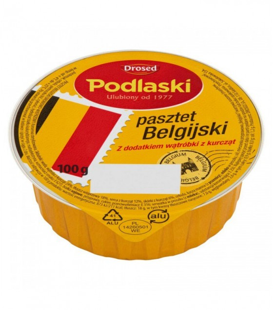 Drosed Belgian Chicken Liver Pate - 100g (exp. 02.10.20)