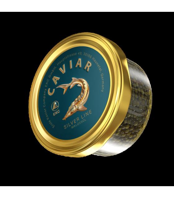 EKC Sturgeon Caviar (Osetr) Silver Line - 100g (best before 01.08.21)