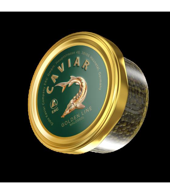 EKC Sturgeon Caviar (Osetr) Golden Line - 50g (best before 01.08.21)