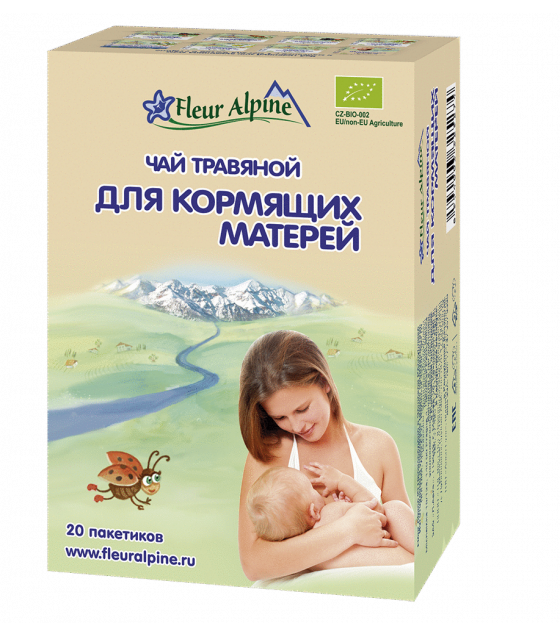 "Fleur Alpine - Organic Herbal Tea ""For Breast Fidding Women"" - 30g (exp. 07.08.2020)"