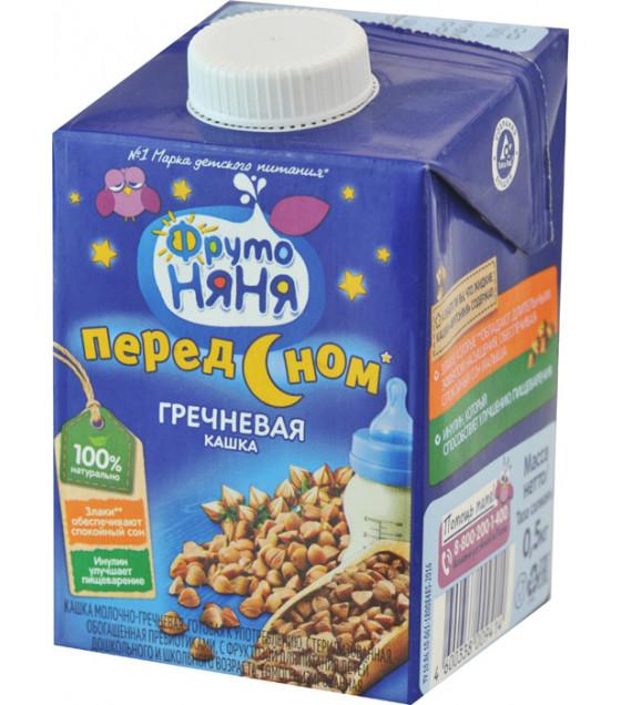 """FRUTO-NANYA Porridge Buckwheat """"Pered Snom"""" (from 3 years) - 500g (best before 11.10.21)"""