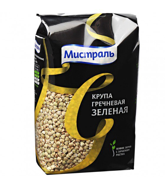 Mistral Green Buckwheat - 450g. (exp 09.10.19)