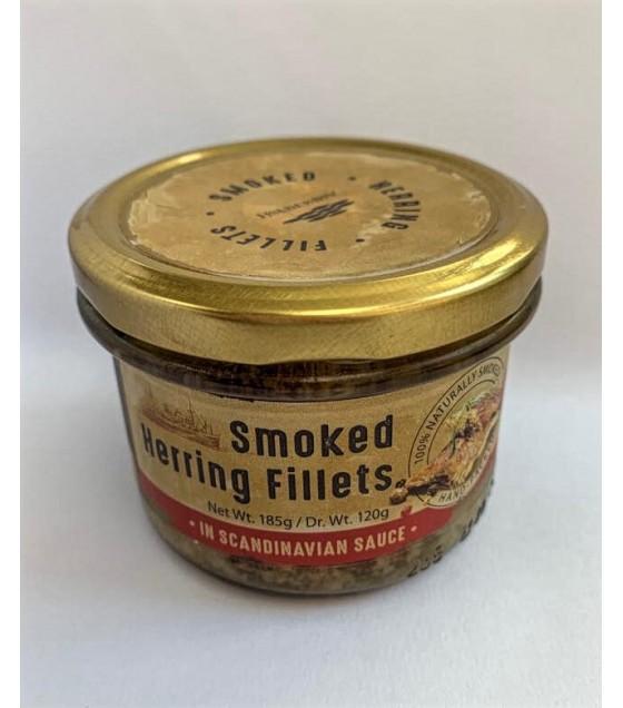 "STEINHAUER Smoked Herring Fillets ""Scandinavian"" - 185g (exp. 05.09.20)"