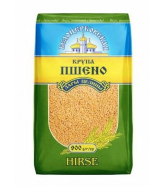 "STEINHAUER Millet Cereals ""Belotserkovskaya"" (Hirse) - 900g (best before 05.06.21)"