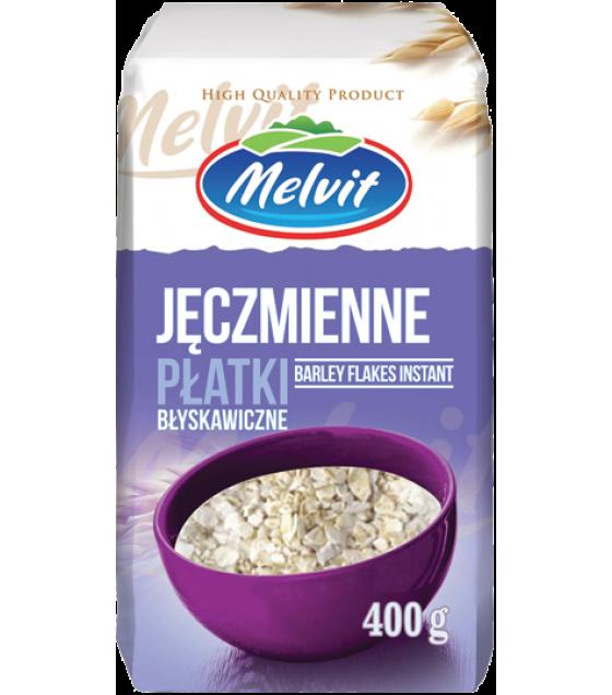 MELVIT Barley Flakes Instant (Jeczmienne Platki) - 400g (best before 26.10.21)