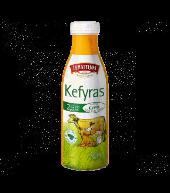 ŽEMAITIJOS Kefir 2,5% - 450g (exp. 22.06.19)