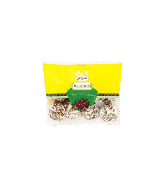 "JAVINE Honey cakes ""Cranberry"" - 200g (exp. 02.10.19)"