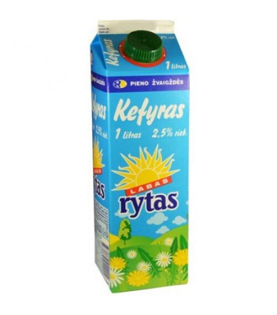 """SVALIA Kefir """"LABAS RYTAS"""" 2,5% fat - 1L (exp. 31.10.19)"""
