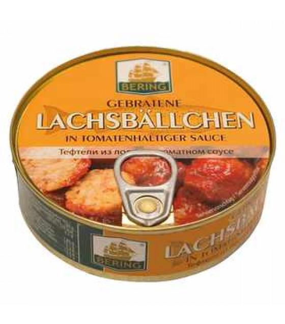 STEINHAUER Salmon Patties in Tomato Sauce (Lachsballchen) - 205g (best before 22.12.21)