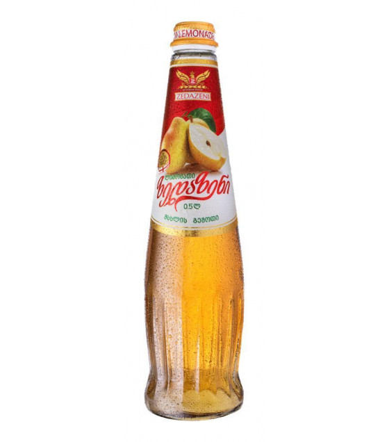 "ZEDAZENI Georgian Lemonade ""Pear"" - 0.5L (best before 17.03.22)"