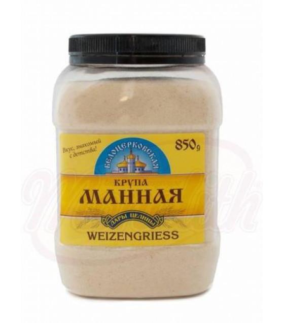 "STEINHAUER Semolina ""Belotserkovskaya"" (Plastic Jar) - 850g (best before 20.03.21)"