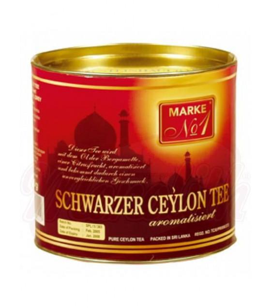 STEINHAUER MARKE N1 Black Ceylon Tea with Bergamot in Metal Can - 200g (best before 12.07.23)