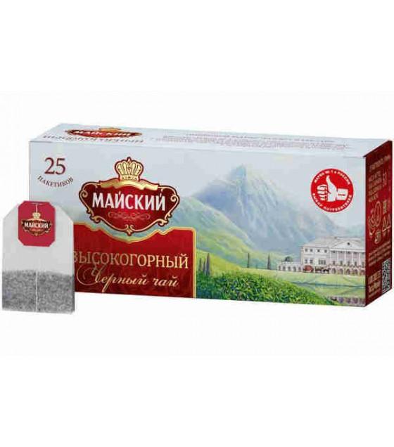 """MAYSKIY Black Tea """"Vysokogorniy"""" (25x2g bags) - 50g (best before 18.11.23)"""