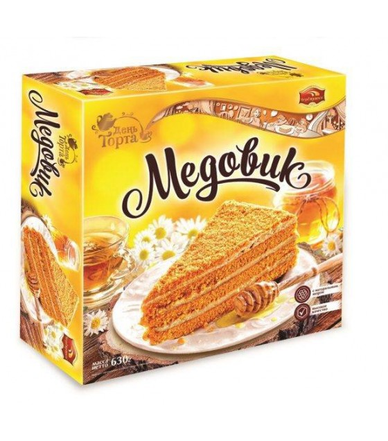 "Honey Cake ""Medovik"" Den Torta - 630g (exp. 20.12.18)"