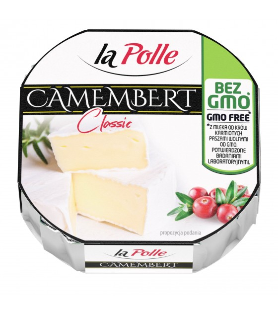 Mlekovita CAMEMBERT La Polle Natural without GMO - 120g (exp. 23.11.18)