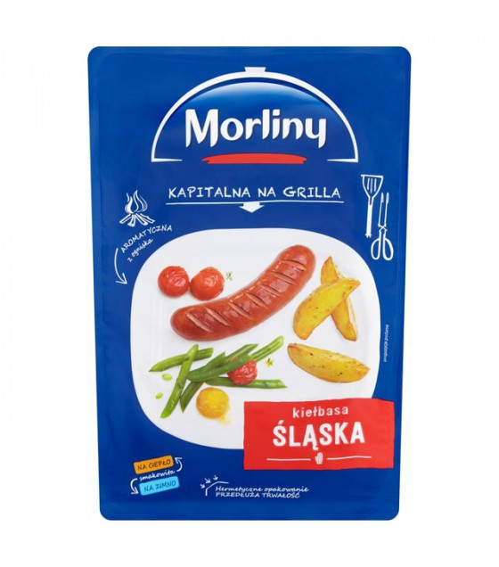 MORLINY KIELBASA SLASKA Pork Sausages - 550g (exp. 26.12.18)