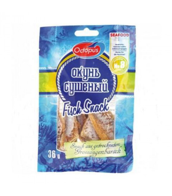 OCTOPUS Bass Dried Snack - 36g (best before 08.03.22)