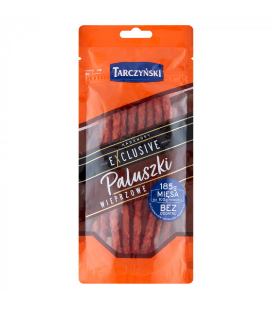 TARCZYNSKI STICKS PALUSZKI Kabanos Exclusive Pork smoked sausages - 95g (best before 17.09.21)