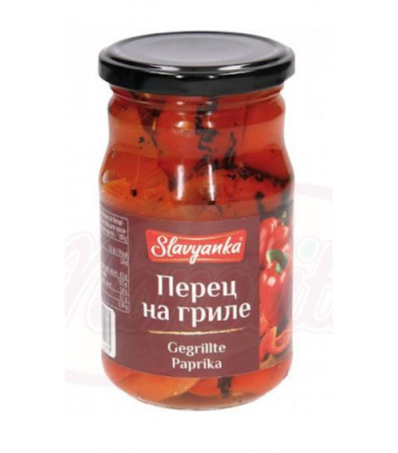 """STEINHAUER """"Slavyanka"""" Papryka Grill in Oil - 350g (best before 11.06.21)"""