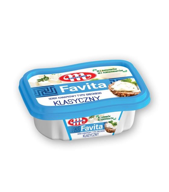 Mlekovita FAVITA Classic cheese spread - 150 g (exp. 08.05.20)