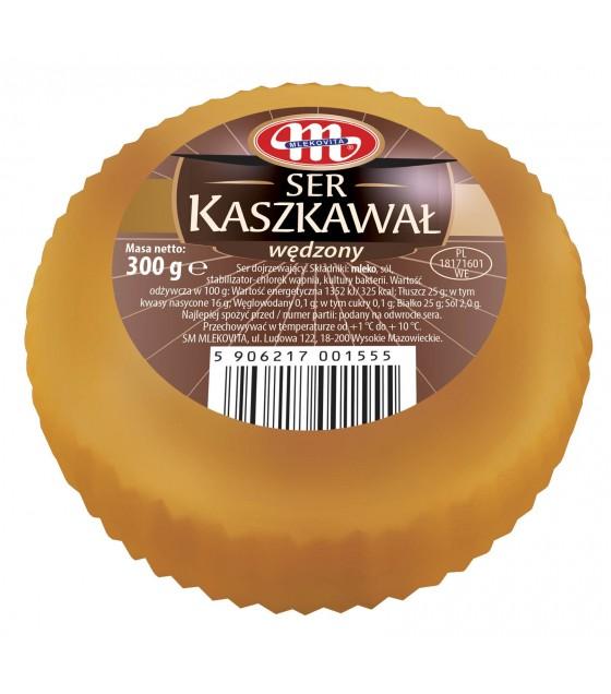 Mlekovita KASHKAVAL smoked cheese - 300g (exp. 24.10.20)