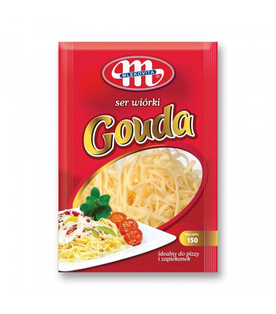Mlekovita Gouda Cheese shredded - 150g (exp. 07.12.18)